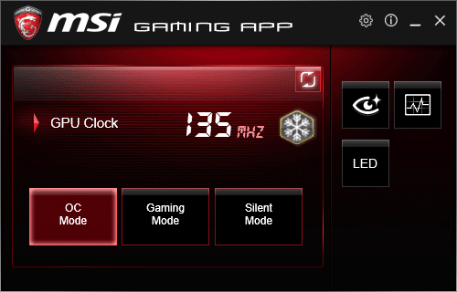 msi graphics card app