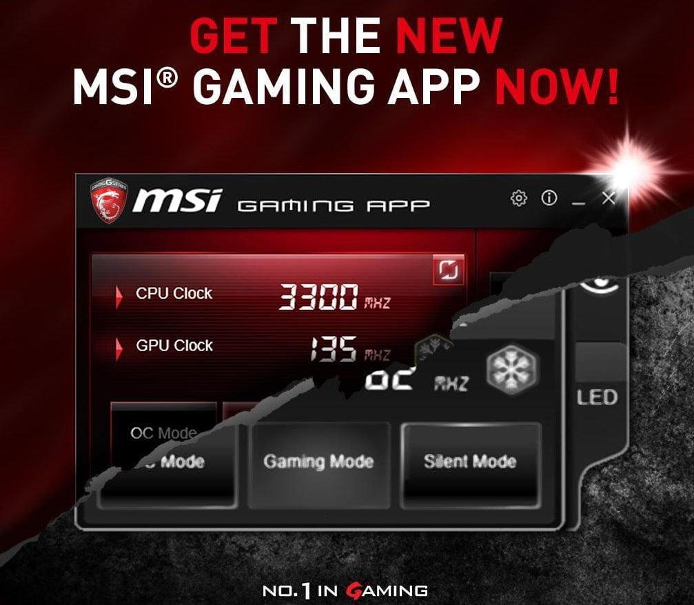 msi free gaming app