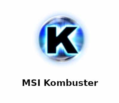 Logo of MSI Kombustor