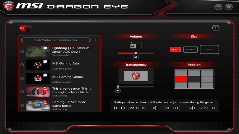 dragon eye screenshot