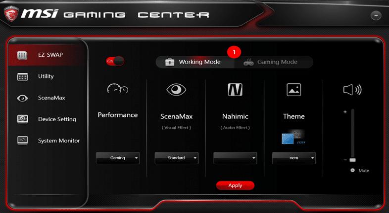 gaming center screenshot
