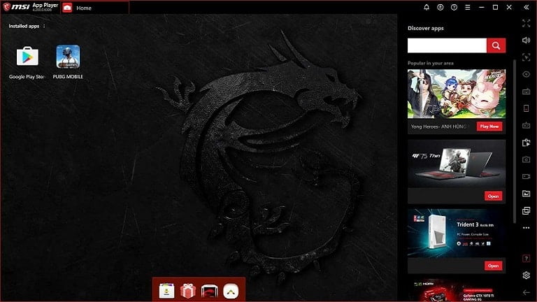 msi app player for pc