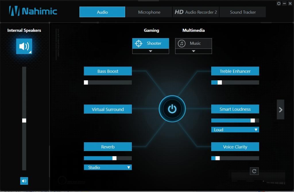 MSI Nahimic 3 Screen